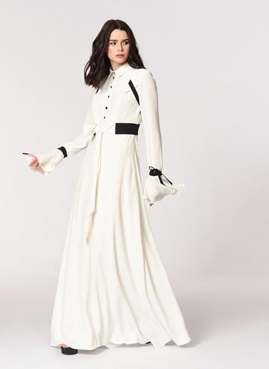 Mizalle Elbise Beyaz